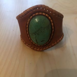 Fresh leather bracelet